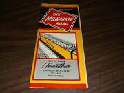 September 1963 Milwaukee Road System Public Timetable