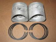 Honda Nos - 2 Piston And Ring Sets - Cb-cl77 - .5mm - 1961-68 - 13103-275-020