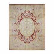 8and039x10and039 Hand-knotted Thick And Plush Savonnerie Napoleon Iii Design Rug R46778