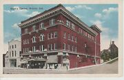 1920and039s The Eagleand039s Theatre In Wabash In Indiana Pc