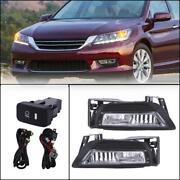 Replacement Fog Lights Switch Left Right For 2013-2015 Honda Accord Sedan 4dr