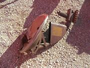 Farmall H M Sh Sm Tractor Original Paint And Decal Ih Tool Box Front Seat Assembly