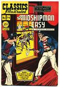 Classics Illustrated 74 1st F Mr. Midshipman Easy Comics 1950 H Collection
