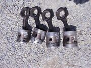 Unstyled Allis Chalmers Wc Tractor Engine Motor Pistons Rings Rod Piston