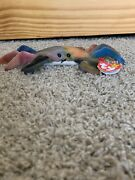 Claude The Crab Beanie Baby 1996 Pvc Pellets. In Mint Condition. Has Both Tags