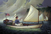 Charles Wysocki Thinking About Horatio Cnv 1300 Val Only 300 In Edition
