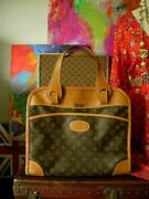 Rare Vintage Fc Saks Louis Vuitton Tote Bag Suitcase Keepall Carry On Luggage Lv