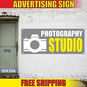 Photography Studio Advertising Banner Vinyl Mesh Decal Sign Now Soon Open Fast