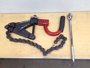 Ridgid 226 Soil Pipe Cutter And Ratchet In-place Cast Iron Snap Tube Bender Cutter