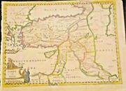 Antique Map Of Turky In Asia 1758-72 Turkey The Black And Mediterranean Sea Nice