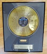 John Lennon Imagine Record With Piece Of Door From His Home Limited Edition