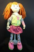 Little Miss Matched 14 Rag / Plush Doll - Red Yarn Hair