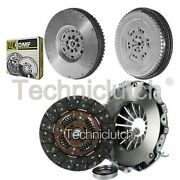 Nationwide 3 Part Clutch Kit And Luk Dmf For Nissan Navara Pickup 2.5 Dci