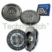 Nationwide 2 Part Clutch Kit And Sachs Dmf For Mercedes-benz Sprinter Bus 408cdi