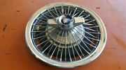 1965 1966 1967 Buick Special 14 Wire Spinner Hubcap Wheel Cover 1010, 01364273