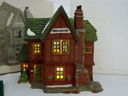 Dept 56 Dickens Village Browning Cottage 58246 In Mint Condition