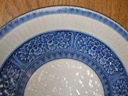 Especially Exquisite Rare Signed Porcelain Plate New Old Stock Japanese Blue Art