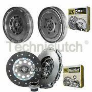 Luk 3 Part Clutch Kit Andluk Dmf For Bmw 3 Series Saloon 320d