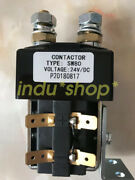 Sw80-6 24v Contactor Electric Forklift Accessories Forklift Main Contactor