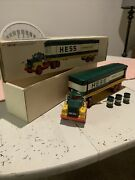 1976 Hess Truck All Original Inserts. All Lights Work Bright With 3 Barrels