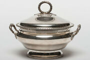 French Sterling Silver Tureen 19th Century