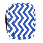 Premium Canvas Bible Covers For Women, Chevron Carrier Fo Girls, Teens - Navy