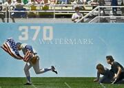 El271 Rick Monday Chicago Cubs Saves Us Flag 8x10 11x14 16x20 Colorized Photo