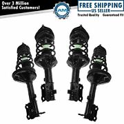 Strut And Spring Assembly Front And Rear Kit Set Of 4 For 00-05 Hyundai Accent