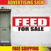 Feed Advertising Banner Vinyl Mesh Decal Sign For Sale Grain Seed Corn Animals
