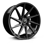 22 Hawke Arion Black Alloy Wheels And Tyres For Range Rover Vogue And Sport