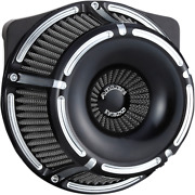 Arlen Ness Inverted Series Air Cleaner Kits For V-twin Slot Track Black 18-915