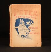 1892 Peter A Cat O' One Tail His Life And Adventures Louis Wain Charles Morely 1