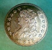 1818 Capped Bust Silver Quarter 036