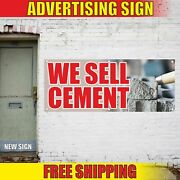 We Sell Cement Advertising Banner Vinyl Mesh Decal Sign Mastic Mortar Glue Build