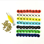 Lot 56pcs Bearing Wheels And Spanner Nuts Accessary For Skateboard Fingerboard Toy