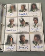 The Dead Zone 1 And 2 27 Autograph Cards Master Auto All Chase Binder Hall