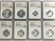 2012 S Limited Edition Silver Proof Set All 8 Coin Ngc Pf69 Ultra Cameo