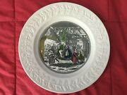 Adams Charles Dickens Christmas Eve At Mr. Wardels Collector Plate