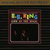 Live At The Regal By B.b. King Cd May-1991 Mobile Fidelity Sound Lab