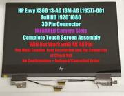 Replacement Lcd Led Touch Screen Complete Assembly For Hp Envy X360 13m-ag0002dx