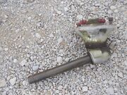 Massey Ferguson 85 Diesel Tractor Original Front Lh Steering Spindle And Hub Andnuts