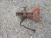 Allis Chalmers Ac Wd Wd45 Tractor Snap Coupler Main Bell Latch Bracket + Chain +