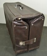 Amelia Earhart The Wallstreeter Fold Over Suitcase Wardrobe Luggage Vtg 30and039s