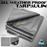 14x20 Ft 14mil Heavy Duty Canopy Poly Tarp Tent Boat Cover Reinforced Tarpaulin