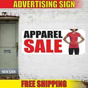 Apparel Sale Advertising Banner Vinyl Mesh Decal Sign Clothes Discount Shop Best