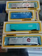 Bachmann Ho Scale Train Cars And Parts 51and039 Reefer Swift Premium Wood Stock Car +