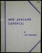 New Zealand 6 Pence 1933-1965 Complete 35 Coin 6p Nz Bertrand Folder Collection