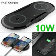 Dual/single Wireless Charger Fast Charging Pad For Samsung S9 S8 Note10+ S20 S10