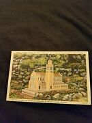Replica Of Abbey Church Work Discontinued For Lack Of Funds - Vintage Postcard