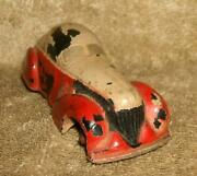 1930's Sun Rubber Company Supercharged Coupe Toy Car